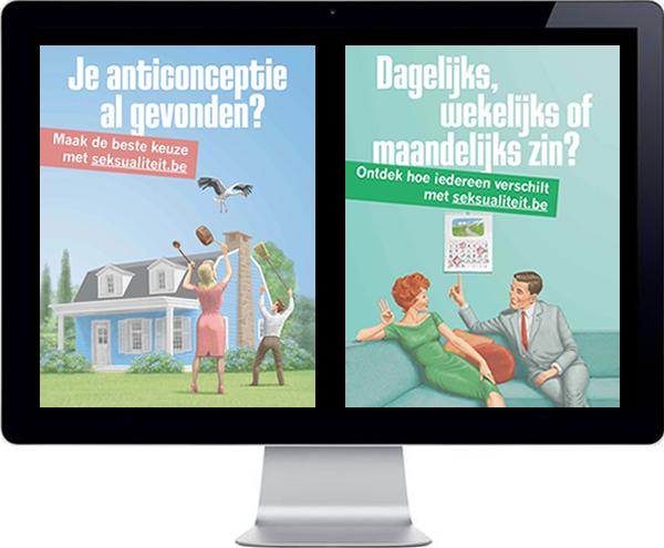 Promotiecampagne voor seksualiteit.be