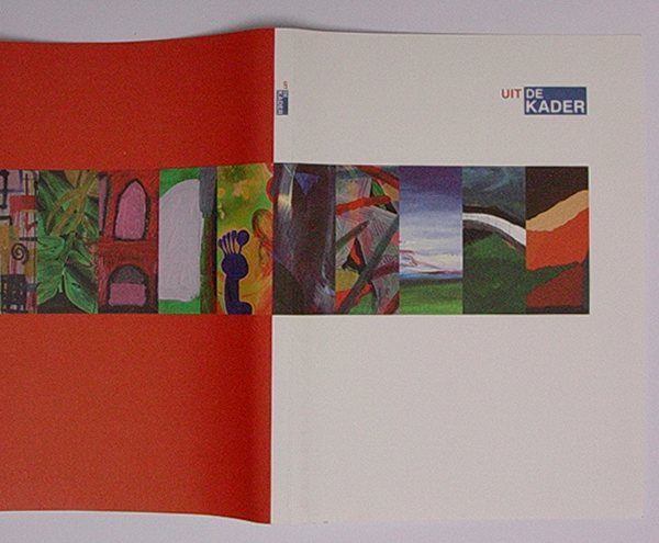Catalogus tentoonstelling 'Uit de kader'
